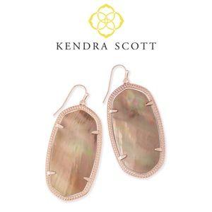 Kendra Scott Dani Rose Gold Earrings